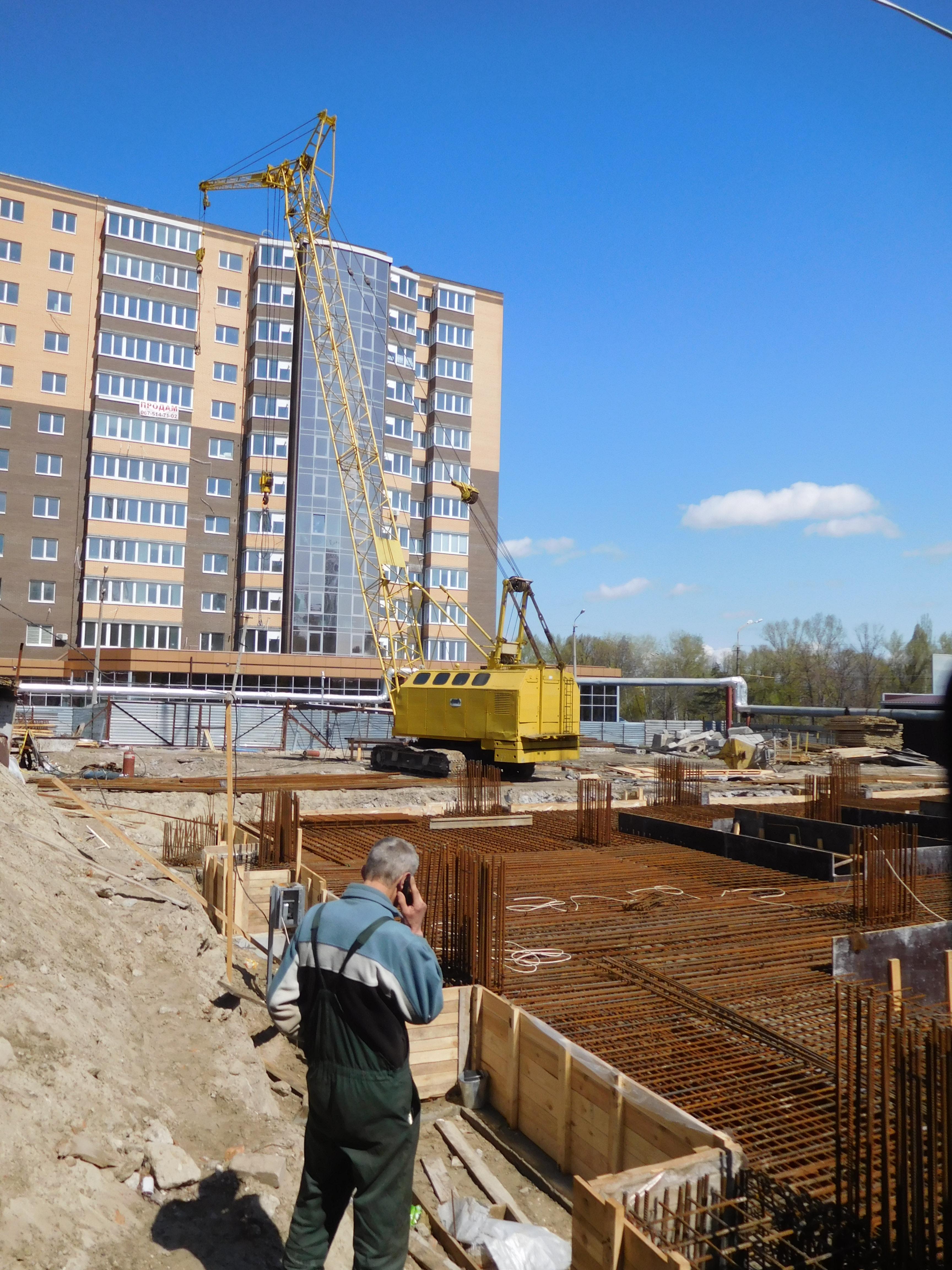 Строительство ЖК Victory Hall — Днепр, 12.04.2017