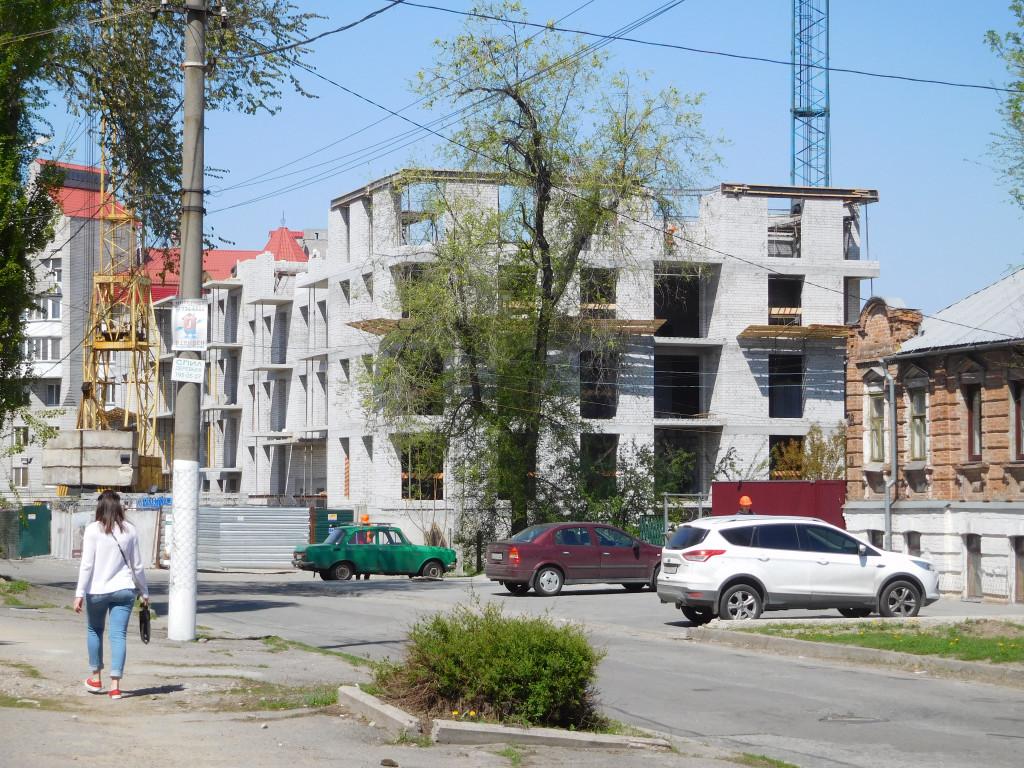 Строительство ЖК Palermo – Днепр, 30.04.2017
