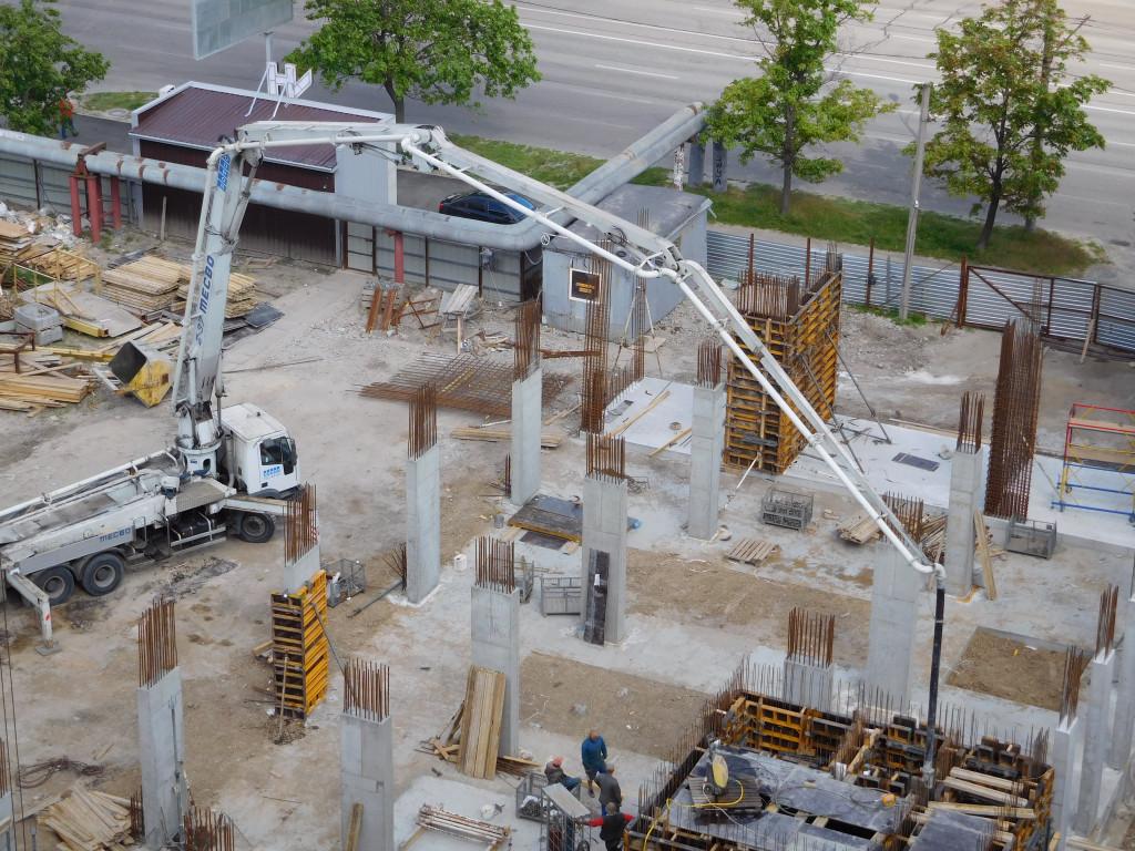 Строительство ЖК Victory Hall – Днепр, 10.05.2017