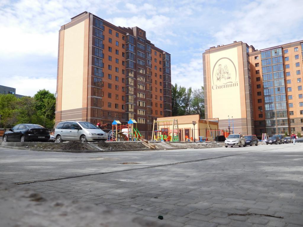 Строительство ЖК Семейный – Днепр, 11.05.2017