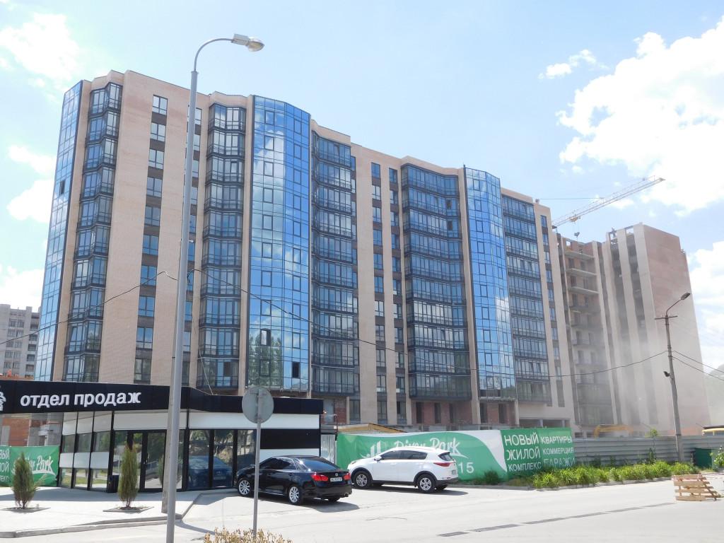 Строительство ЖК River Park – Днепр, 30.05.2017