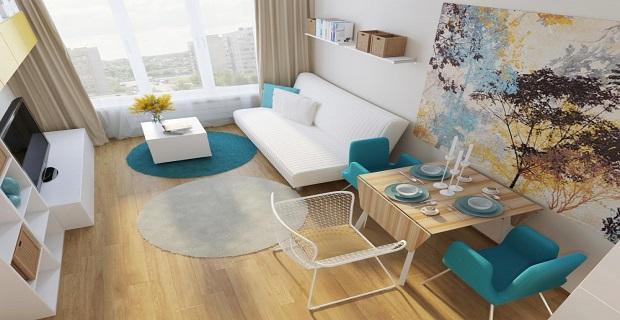 Максимальный комфорт минимального пространства: топ идей для квартир-студий