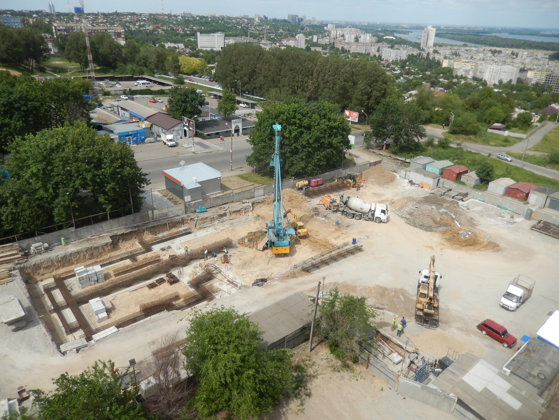 Строительство ЖК Sokolovsky — Днепр, 02.06.2017
