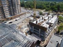 Строительство ЖК Victory Hall – Днепр, 29.06.2017