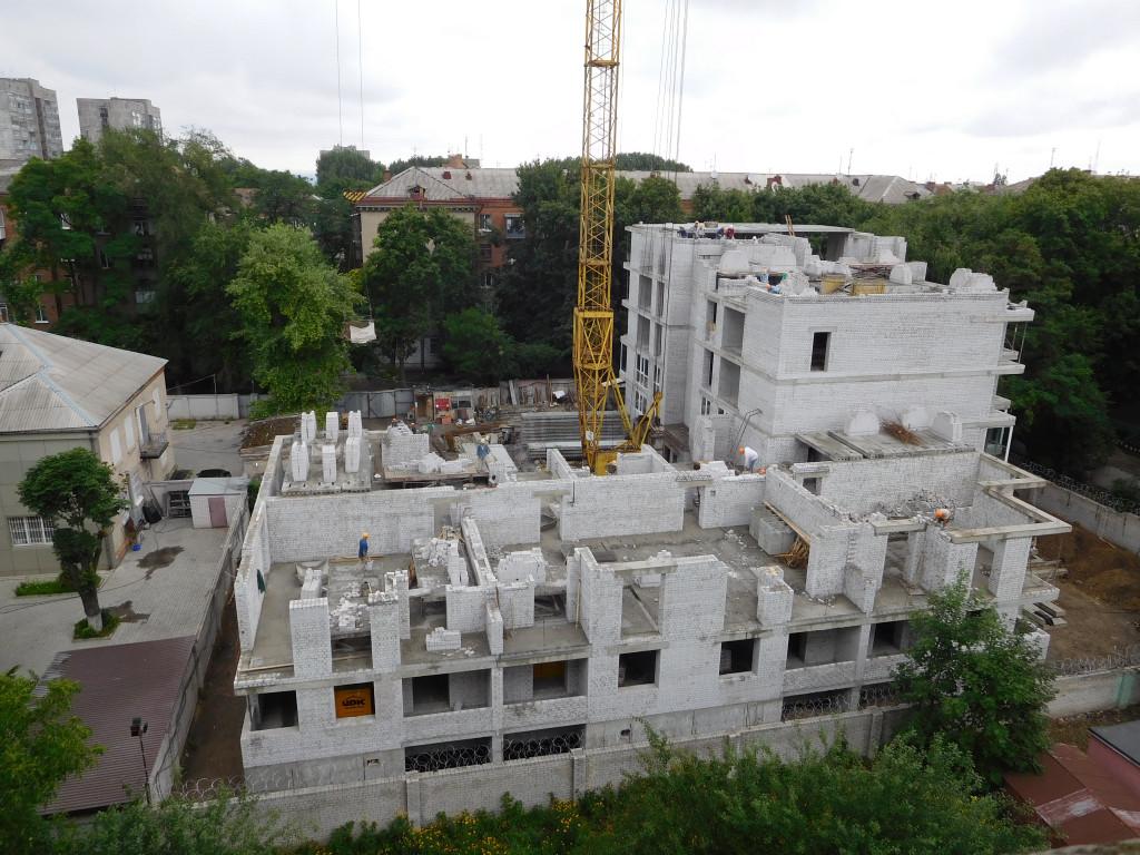 Строительство ЖК Дом на Титова – Днепр, 04.07.2017