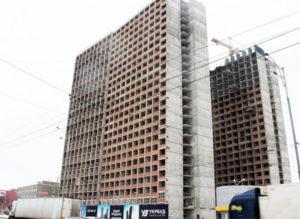 В «Укрбуд» отчитались о строительстве ЖК Twin House