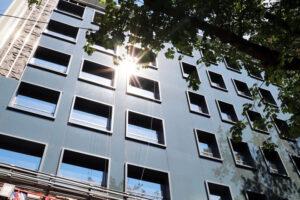 «Укрбуд»: Ход строительства бизнес-центра LEVEL
